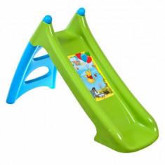 Tobogan copii XS 310467 Winnie the Pooh cu sistem de apa Smoby, Verde, Plastic