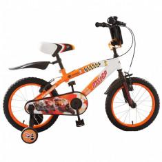 Bicicleta copii MotoGP 16 inch ATK Bikes, Portocaliu