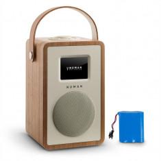 NUMAN MINI Two Design, radio prin internet, DLNA, WiFi, BLUETOOTH, FM, nuc inclusiv baterie reîncărcabilă - Aparat radio