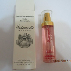 NOU!TESTER 45 ML-AZZARO MADEMOISELLE -SUPER PRET, SUPER CALITATE! - Parfum femeie Azzaro, Apa de toaleta
