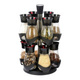 Set condimente Grunberg, 13 piese, suport rotativ - Solnita
