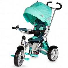 Tricicleta multifunctionala Giro Verde Coccolle - Tricicleta copii