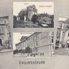 ALBA IULIA CIRCULATA 1911 - Carte Postala Transilvania pana la 1904, Printata