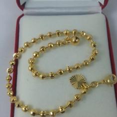 Bratara glezna dublu placata aur 24K Cod produs: BRP 1 - Bratara placate cu aur, Femei