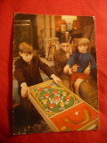 Ilustrata Printul de Wales cu fiii sai Andrew si Edward
