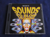 Various - Sounds To Blow You're Mind _ dublu cd,compilatie _ Sony (UK), sony music