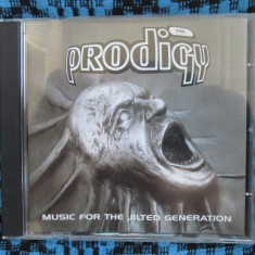 THE PRODIGY - MUSIC FOR THE JILTED GENERATION (1 CD ORIGINAL din ANGLIA, CA NOU! - Muzica Drum and Bass