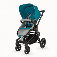 Carucior 2 in 1 Girasole Albastru Coccolle - Carucior copii 2 in 1