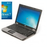 Laptop refurbished HP Compaq 6530b P8600 2.4GHz/2GB/60GB cu Windows 7 Profession - Laptop HP