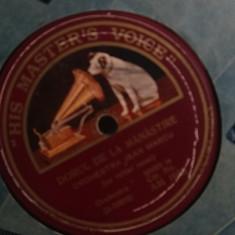 Placa gramofon, stare perfecta, Columbia, Jean Marcu, Bucuresti, OFERTA!