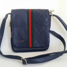 Geanta de Umar Borseta GUCCI GU-390 - Geanta Barbati Gucci, Marime: Medie, Culoare: Albastru