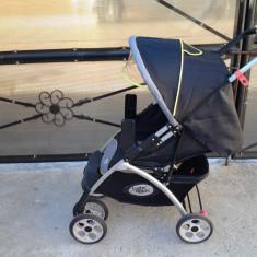 Baby Relax carucior copii 0 - 3 ani + adaptori scoica - Carucior copii Sport Altele, Altele