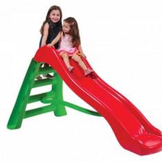 Tobogan 200 cm cu scara Rosu cu Verde Europlast - Tobogan copii, Plastic