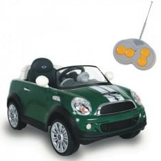 Masinuta Mini Coupe 12V Verde Biemme - Masinuta electrica copii