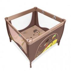 Tarc de joaca cu inele ajutatoare Play Up Brown Baby Design
