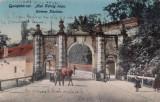 ALBA IULIA , POARTA  I a  A  CETATII  CIRCULATA 1917, Printata