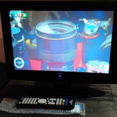 TV LCD 15 INCH KENSTAR + TELECOMANDA NOUA ALIMENTARE 12V AUTO - Televizor LCD, Sub 48 cm, HD Ready