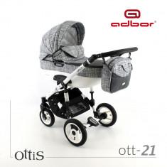Carucior 3 in 1 Ottis ott 21 Adbor - Carucior copii 3 in 1
