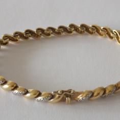 Bratara argint cu zirconii -2137