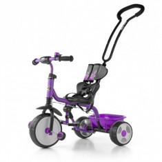 Tricicleta copii Boby Violet Milly Mally