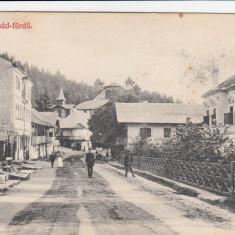 TUSNAD - BAILE TUSNAD POSTA CIRCULATA 1910 - Carte Postala Transilvania 1904-1918, Printata