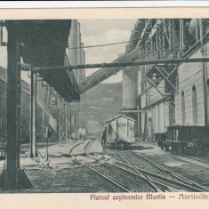 RESITA PLATOUL CUPTOARELOR MARTIN EDITURA OTTO SCHWARTZ RESITA - Carte Postala Banat dupa 1918, Necirculata, Printata