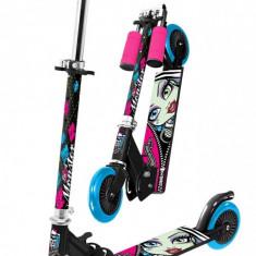 Trotineta pliabila Monster High Stamp - Trotineta copii Stamp, Multicolor