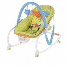 Balansoar copii cu jucarii si vibratii Evolution S41 (Verde) Jane - Balansoar interior Jane, Lemn