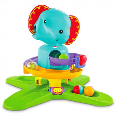 Centru de activitati Safari Elefant Fisher Price - Tarc de joaca Fisher Price, Verde