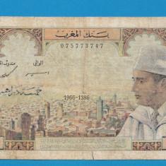Maroc 5 dirhams 1966 - bancnota africa