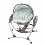 Balansoar 2 in 1 Glider Elite Clouds Graco - Balansoar interior Graco, Multicolor