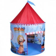 Cort de joaca pentru copii Wickie Castel Knorrtoys - Casuta copii Knorrtoys, Multicolor