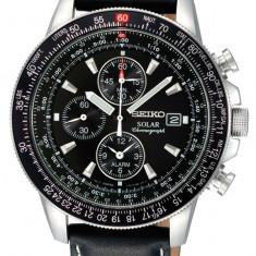 Ceas original Seiko SSC009P3 Solar Cronograf