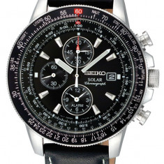 Ceas original Seiko SSC009P3 Solar Cronograf - Ceas barbatesc Seiko, Sport