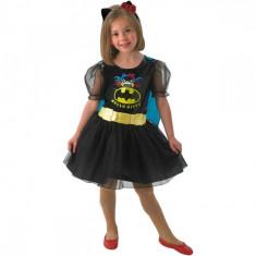 Costum de carnaval Hello Kitty Batgirl L (7-8 ani/max 128cm) Rubies, Negru