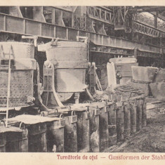 RESITA TURNATORIE DE OTEL EDITURA OTTO SCHWARTZ RESITA - Carte Postala Banat dupa 1918, Necirculata, Printata