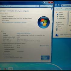 LAPTOP SONY VAIO PCG-7134M RAM 2GB HDD 160GB CPU INTEL DUAL CORE, Intel Pentium Dual Core, Diagonala ecran: 15, Windows 7