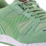 Adidasi Diadora Titan II marimea 42, 42.5 si 43 - Adidasi barbati Diadora, Culoare: Verde, Piele intoarsa