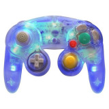Controller Gamecube Pad Usb Blue Led Retrolink Pc