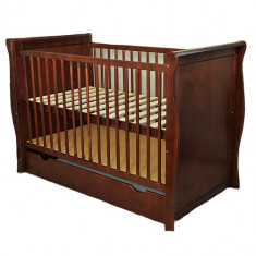 Patut Multifunctional Regal Venghe - Patut lemn pentru bebelusi