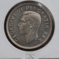 1 Dollar 1949 - Canada, America de Nord, Argint