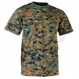 Helikon-Tex Classic Army tricou bumbac Digital Woodland (L) - Tricou barbati, Maneca scurta