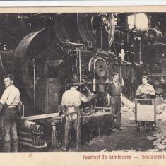 RESITA FOARFECI IN LAMINOARE EDITURA OTTO SCHWARTZ RESITA - Carte Postala Banat dupa 1918, Necirculata, Printata
