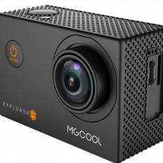 Camera Sport Action MGCOOL EXPLORER ES 3K, 16MP, Wi-Fi, NOU +Acessorii - Camera Video Actiune, Card de memorie, 4K