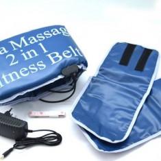 Centura cu incalzire si masaj 2in1 Sauna Massage Fitness