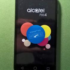 Telefon mobil Alcatel Pixi 4 (5) 5010X, 8GB, Silver (cu garanţie) - Telefon Alcatel, Argintiu, Neblocat, Quad core, 1 GB