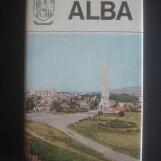 JUDETELE PATRIEI - ALBA - Carte Geografie
