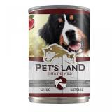 Pet's land Dog - conserva cu carne de vita/miel - 1240 gr - Reviste benzi desenate
