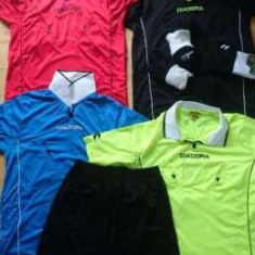 Echipament arbitru Diadora - Set echipament fotbal Diadora, Marime: M