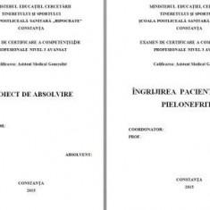 LUCRARE DE LICENTA AMG – INGRIJIREA PACIENTILOR CU PIELONEFRITA